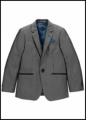 Designer Boys High Shine Suit Jacket
