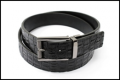 Reversible Crocodile Skin belt